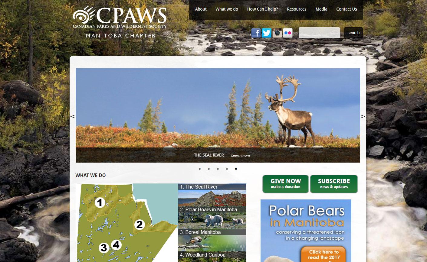 Cpaws Manitoba